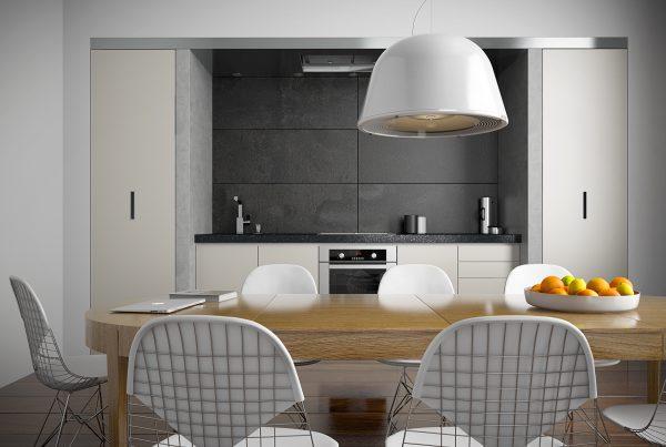 Køkken visualisering af italiensk køkken