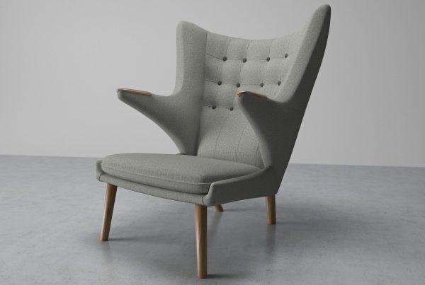 Wegner PP19 Bamsestol produceret af PP Møbler