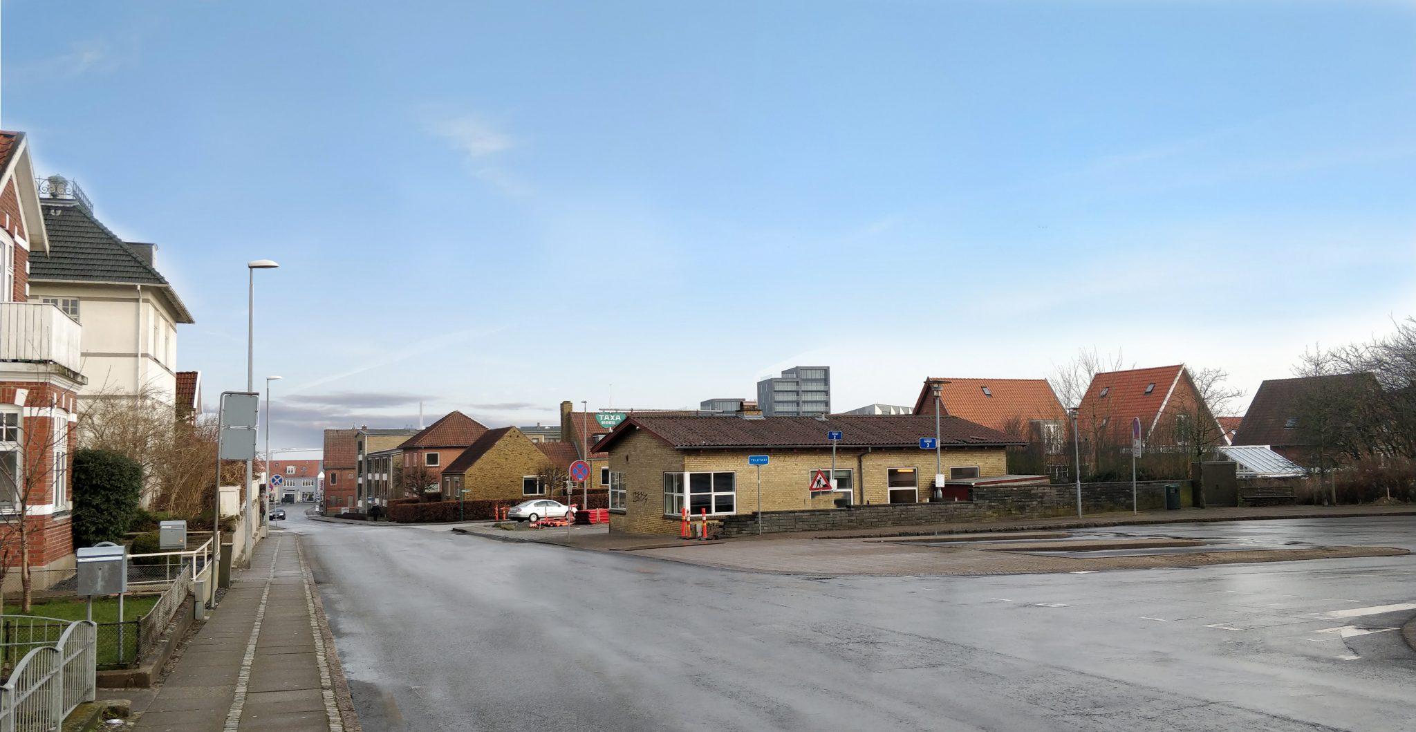 Jernbanegade - Før
