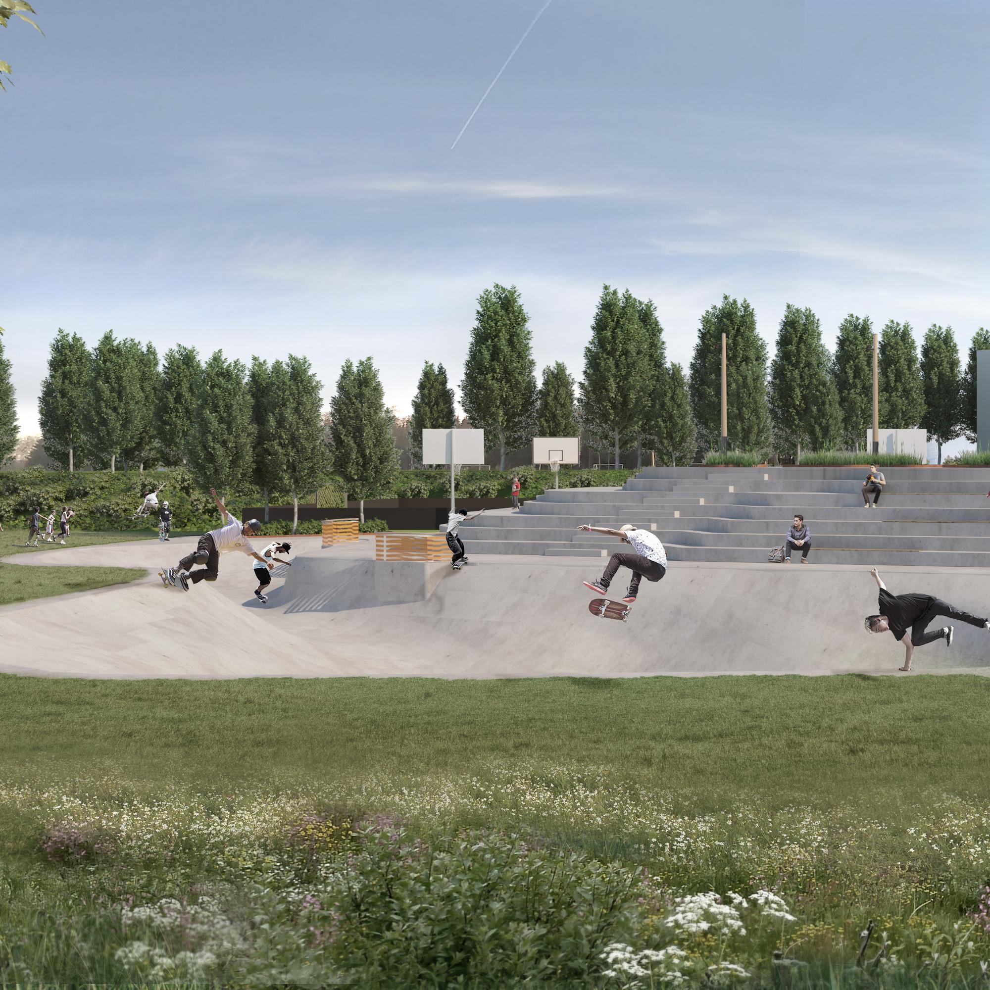 Arena Syd Helhedsplan 2