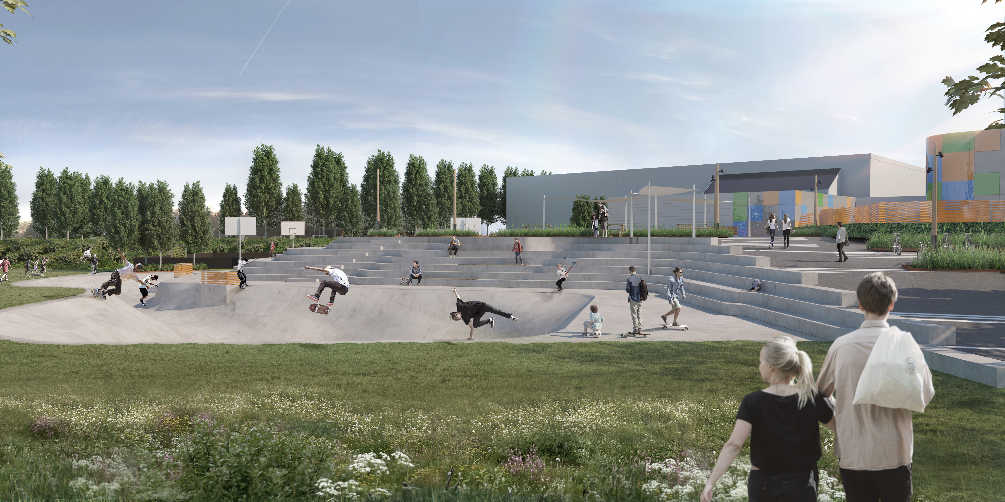 Arena Syd Helhedsplan